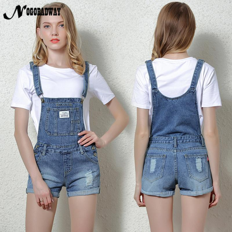 92b4c471b6 2019 Short Denim Jumpsuit Rompers For Women Summer Jeans Overalls Casual  Shorts Playsuits Slim Dungarees Femme 2018 New From Chongyangclothes002