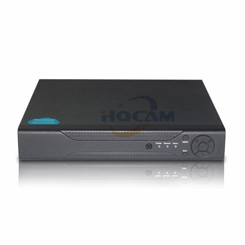 HQCAM H 264 4CH Full-HD 1080P NVR Network Video Recorder CCTV NVR Security  ONVIF P2P Cloud Onvif Mobile APP View XMEye