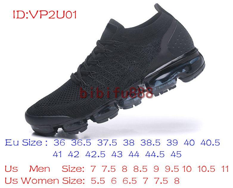 5abf97c115c42 Acheter 2018 Nike Air VaporMax Flyknit 2.0 Chaussures Phares Hommes Femmes  Nouveau Blanc Noir Gris Bleu Rose Baskets À Tricoter Espadrilles De  Créateur De ...
