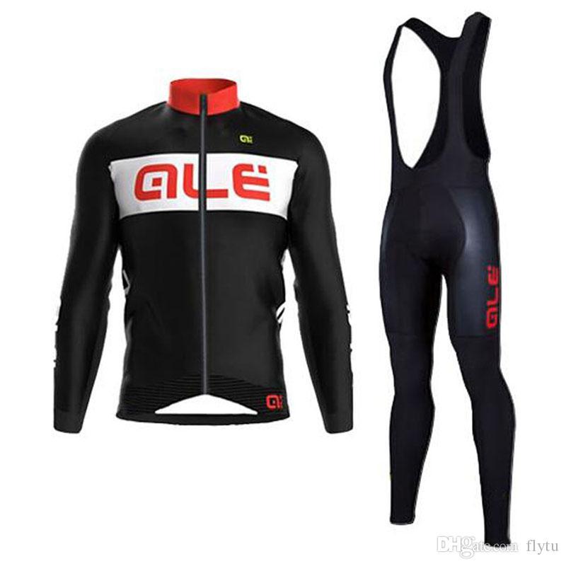 2018 ALE Team Winter Thermal Fleece Cycling Jerseys Ropa Ciclismo Keep Warm  Bicycle MTB Bike Cycling Clothing Winter Fleece Cycling Set Cycling Jersey  ALE ... ade963406