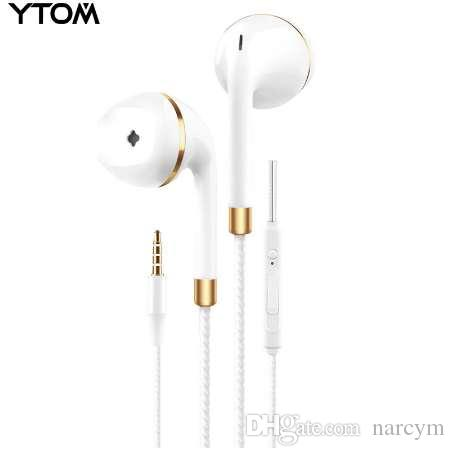 22a9ea0cb07 New In Ear Earphone For Apple Iphone 5s 6s 5 Xiaomi Bass Earbud Headset  Stereo Headphone For Apple Earpod Samsung Sony Earpiece Cool Headphones  Headphones ...