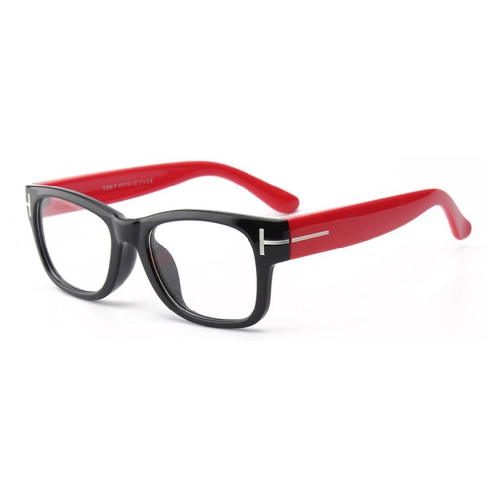 ce79c5af6d97d Compre Silicone Macio Planície Óculos Criança Silicone Macio Moldura  Quadrada Óculos De Leitura Óculos De Sol Armações Para Crianças Quadros  Ópticos De ...