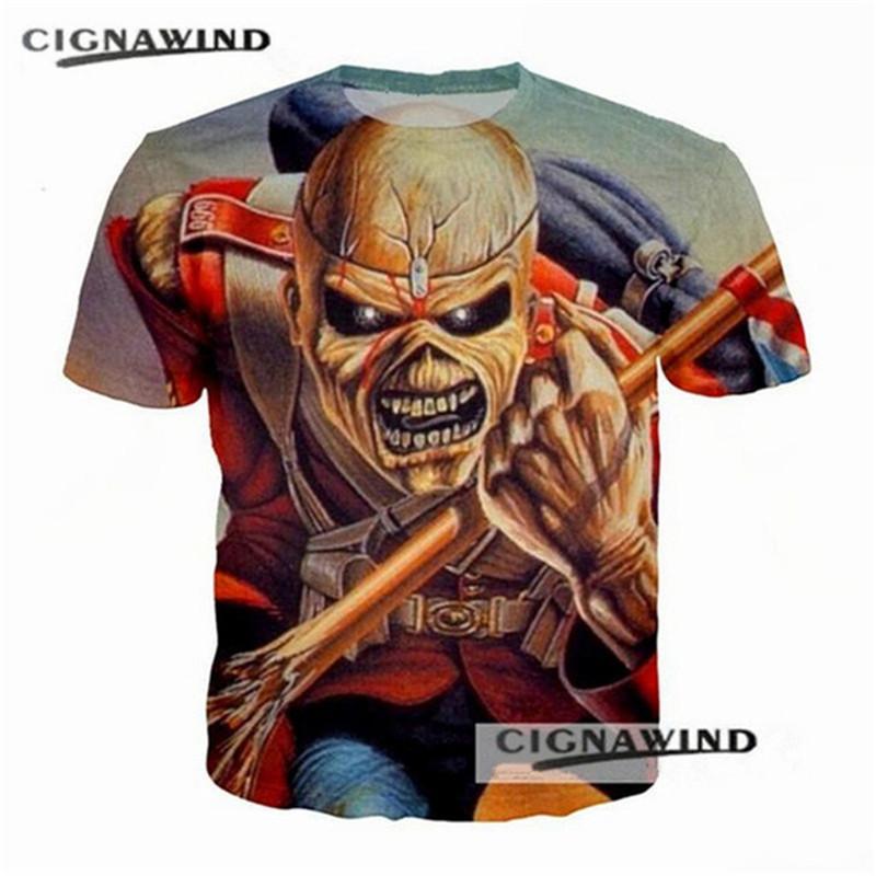 Compre Nueva Serie De Iron Maiden Killers Impresos En 3D Camiseta De Los  Hombres Streetwear Moda Hombres   Mujeres Hip Hop Tops De Verano Harajuku  Camisetas ... 9eb8f109916