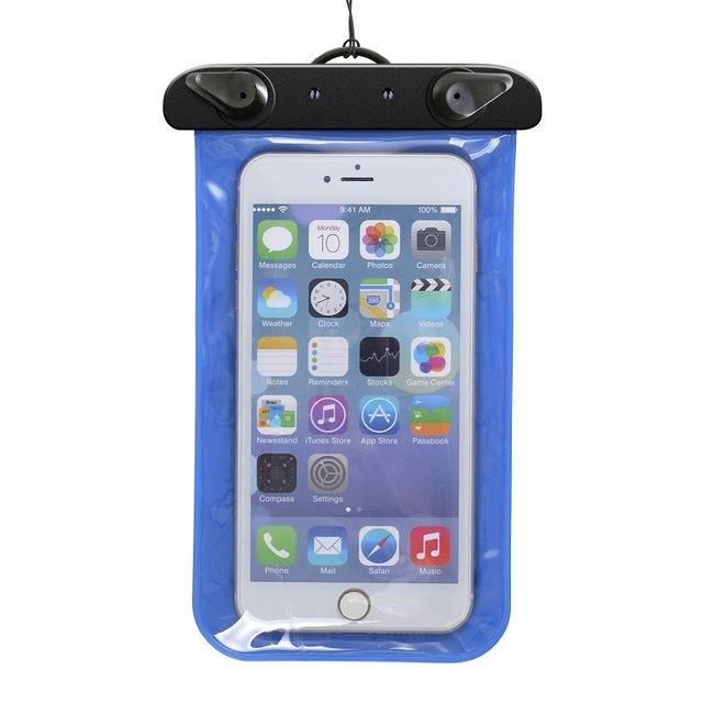 Sacchetto impermeabile di nuoto della borsa asciutta subacquea della borsa impermeabile del sacchetto del telefono cellulare mini borsa la cassa del telefono dello schermo di tocco di Smartphone