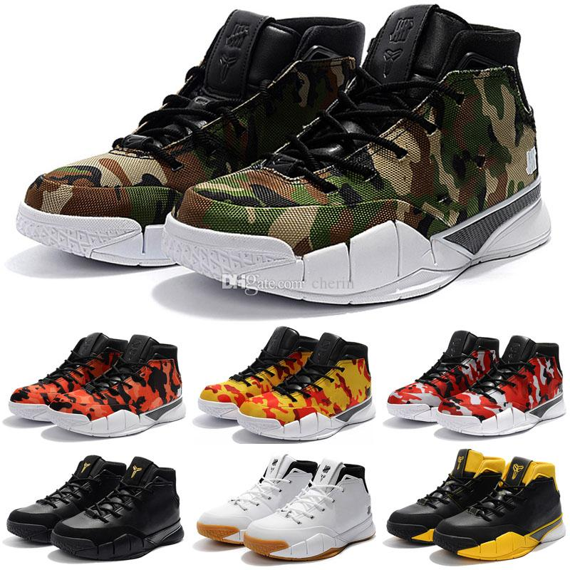 3a93e3b62cd New Kobe 1 Protro Zk1 Black Gold Red Thomas Camouflage Green Gum Basketball  Shoes For Men Kb One 1s Sports Trainers Sneakers Size 40 46 Women Basketball  ...