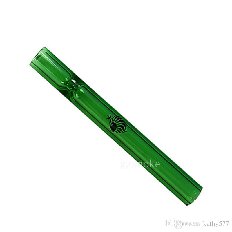 Стеклянная рука трубы OG стекла каток трубы Оптовая несколько цветов курительная трубка для табака пьянящий карман бесплатная доставка
