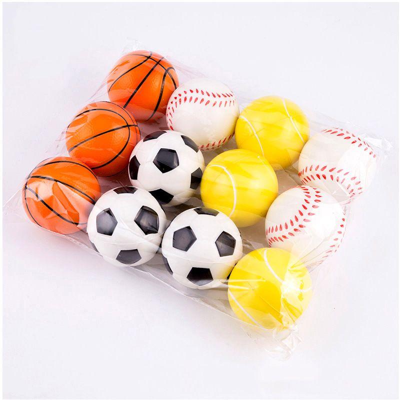 a1f7a7b399db0 ... Polegada Macia PU Esponja Bola De Espuma Fidget Relief Brinquedos  Novidade Esporte Brinquedos Para Crianças Presentes De Wny201709