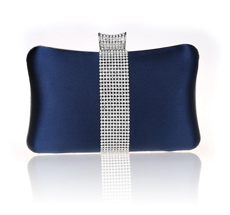 f13416dd4e Compre 2016 De Alta Qualidade Azul Marinho Senhoras Noite De Noite Saco De  Embreagem Bolsa De Festa De Noiva Bolsa Mini Bolsa De Maquiagem Mujer Bolso  03860 ...