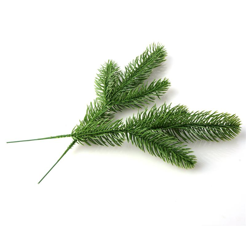 DIY Artificial Flower Wreath Fake Plants Pine Branches For Christmas Party Decor Xmas Tree Ornaments Kids Gift Supplies