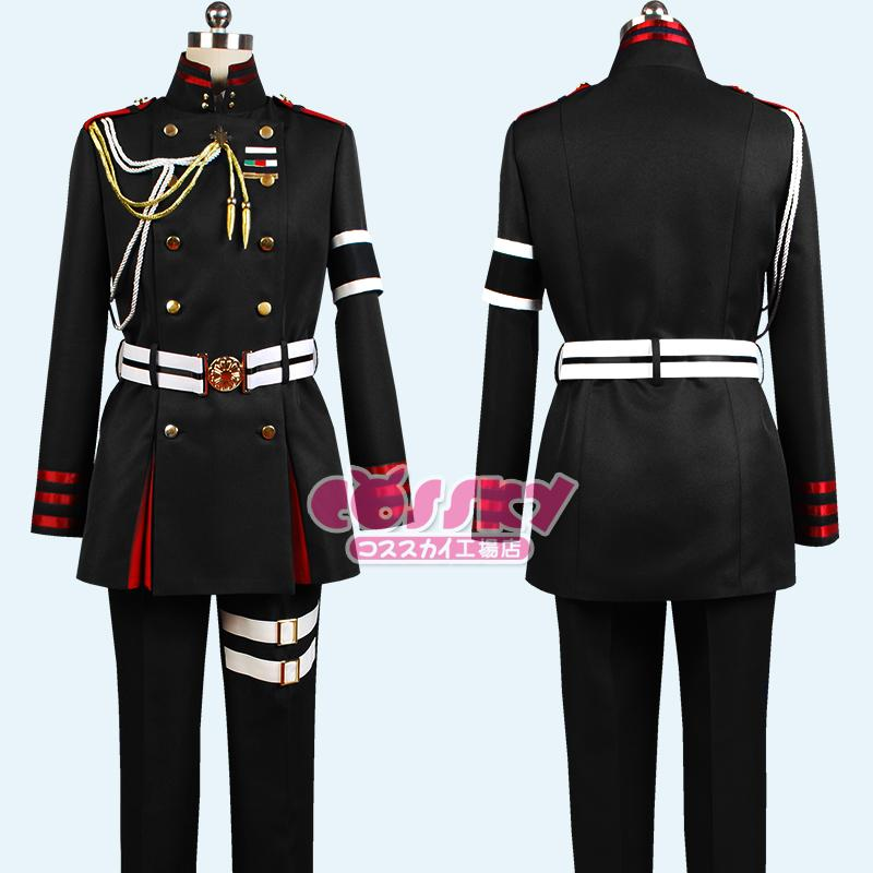 Costumes Accessories Cosplay Costumes Owari No Seraph Of The End Guren Ichinose Cosplay Costume Attire Outfit Uniform For Men Costume Group Themes Halloween ... & Costumes Accessories Cosplay Costumes Owari No Seraph Of The End ...
