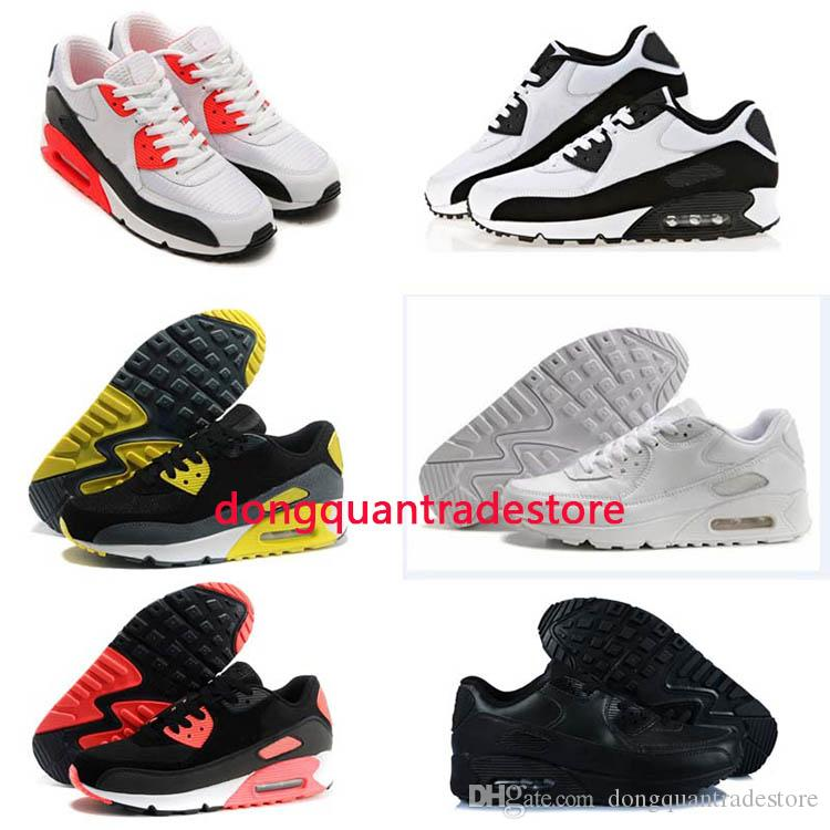 professional sale online 2017 New Classic Air Cushion 90 Running Shoes For Men Brand Outdoor Sneakers Sports Shoes 36-45 shop for online discount for nice e7NxQGP