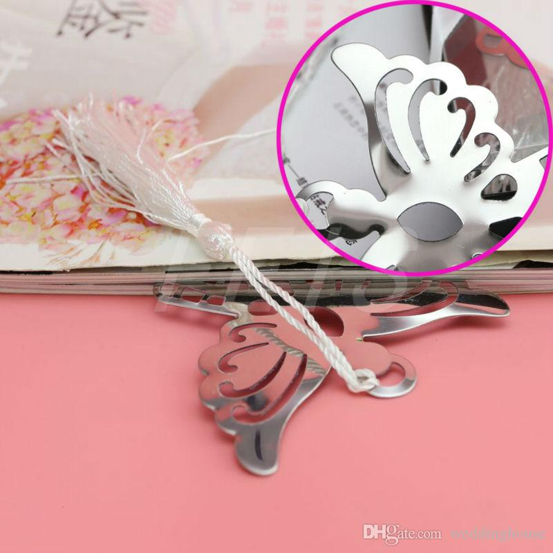 FEIS Angel Argento Segnalibro in metallo compleanno Baby Shower Souvenir Articoli feste Bomboniere e regali gli ospiti