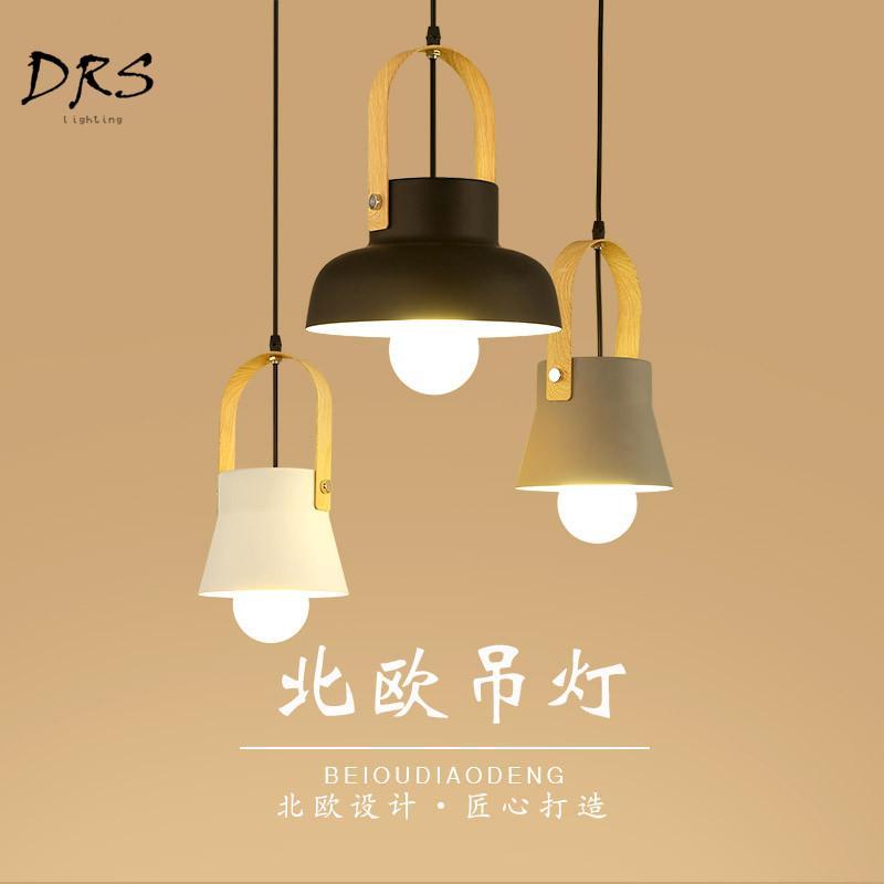 Luminaire Industriel Vintage nordic creative iron chandelier lighting simple american pendant