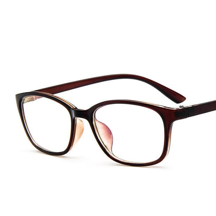 3fc0d409df 2017 Branded Eyeglasses Frames 2338 Square Hipster Glasses Anti ...