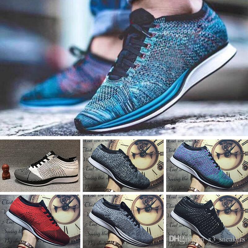 pretty nice 0fce1 774ef Compre Nike Flyknit Lunar 1 Trainers Zapatos Corrientes Corrientes De La  Ramera Del Envío Libre De La Calidad Para Los Hombres De Las Mujeres,  Zapatillas De ...