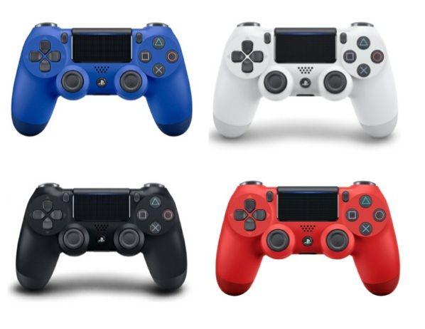 تحكم HOT PS4 تحكم لاسلكي للبلاي ستيشن 4 PS4 النظام حدة تحكم لعبة الألعاب ألعاب المقود مع حزمة البيع بالتجزئة