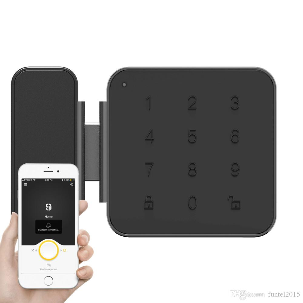 Smart Safe Glass Password Door Lock Office Keyless Digital Electric Lock  Bluetooth Integrated Lock APP Control Smart Lock Smart Door Lock Digital  Electric ...