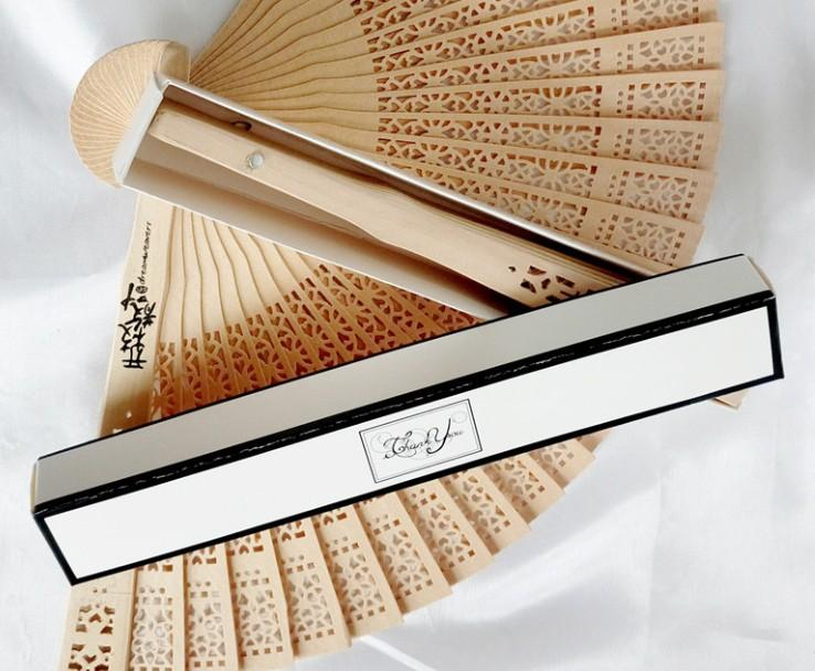 250pcs/lot wood fan Chinese style wedding fan with bride & groom's name &  wedding date personalized
