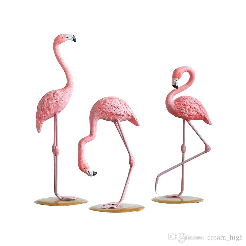 Home Decor Pink Flamingo Resin Decorations Ornament Nordic Animals Living  Room Desk Vintage Flamingo Ornaments Room Decor Flamingo Ornaments Online  With ...
