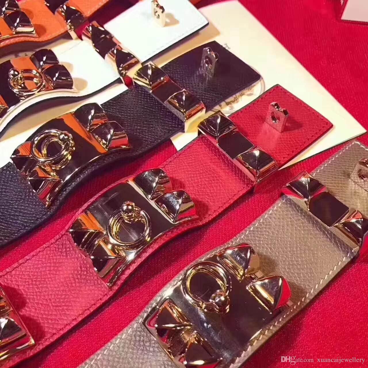 Mode Ceinture En Cuir Poignet Amitié Grand Large Bracelet pour Hommes Punk Bijoux H marque bijoux Willow ongle bracelet bracelets