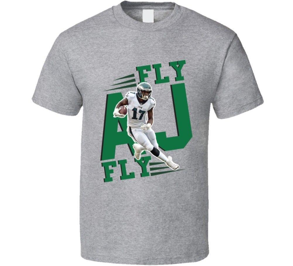 reputable site f82ae 39370 Fly Aj Fly Alshon Jeffery Philadelphia Football T Shirt