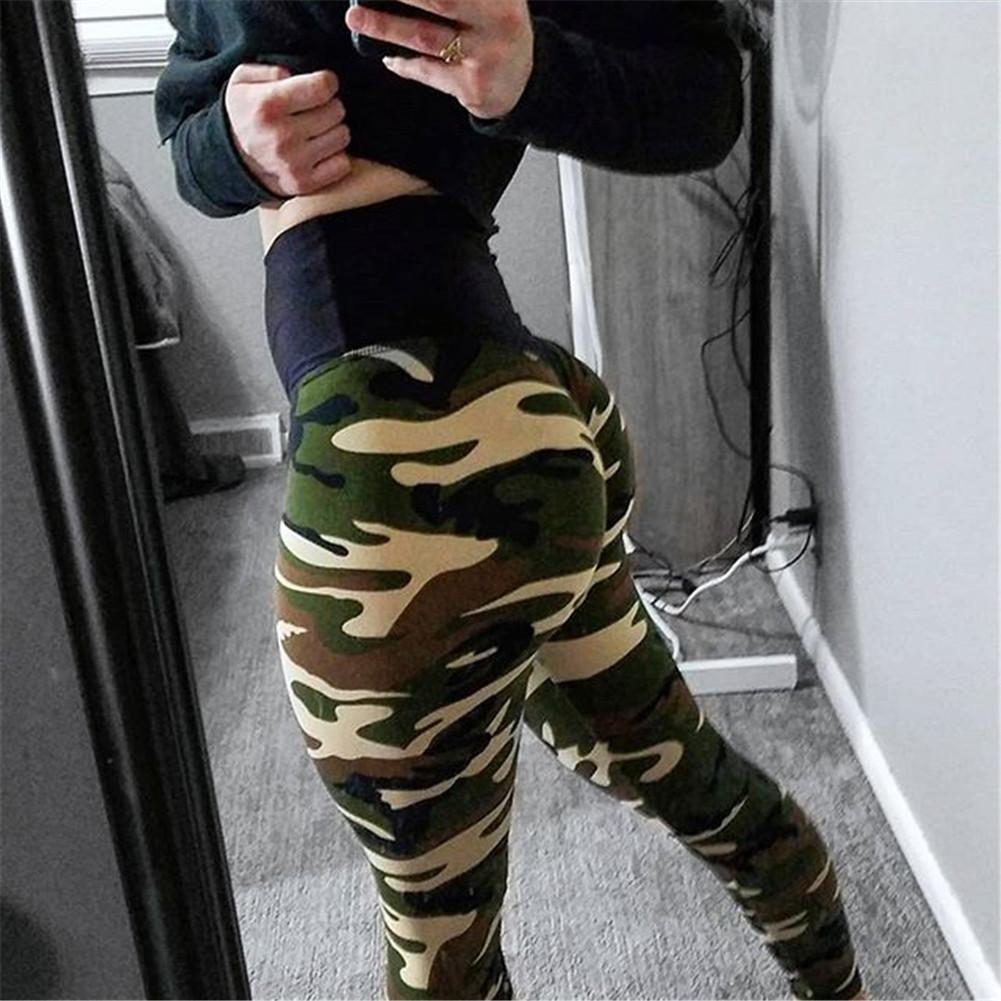 dbd5759429657 2019 Wrinkles Women Camouflage Leggings Fitness Army Green Leggings Workout  Pants Sporter Skinny Adventure Leggins From Cumax, $40.83 | DHgate.Com