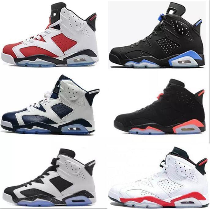 44acd73ddb2c3b Best 6 6s Men Women Basketball Shoes Unc Black Cat Hare Carmine White  Infrared Angry Bull Sport Blue Oreo Olympic Maroon Chrome Sneaker Running  Shoes For ...