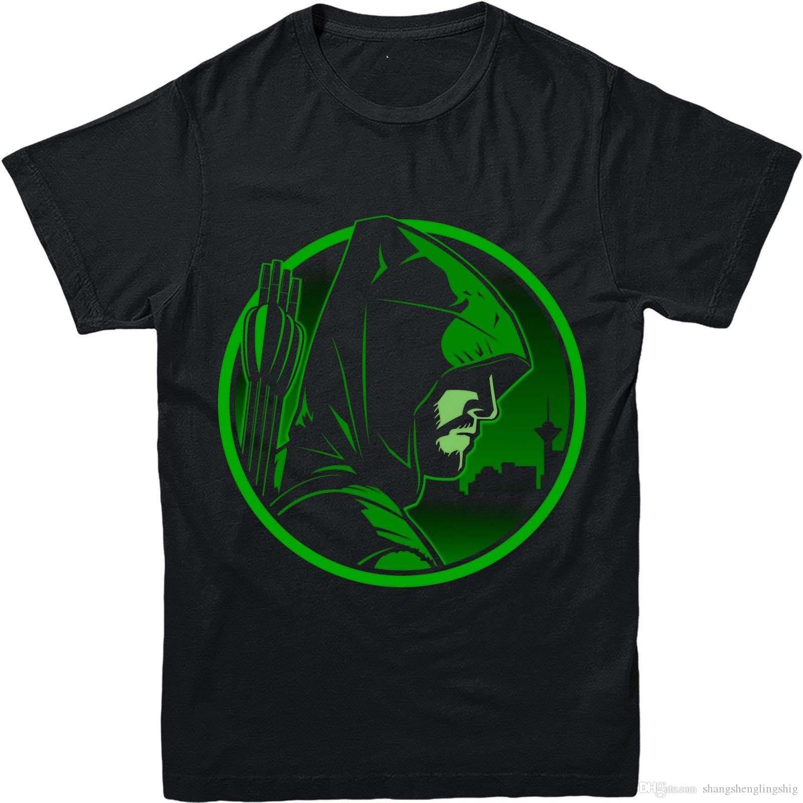 Arrow Dc Comics Green Arrow Inspired Design T Shirt Funky T Shirt