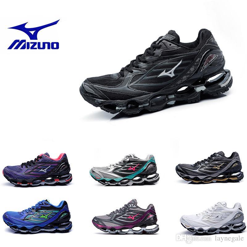 544b46f3726ca Acheter Originals Mizuno WAVE PROPHECY 6 Hommes Femme Designer Chaussures  De Course Hommes Chaud Authentique Sports Original Haute Qualité Baskets  Baskets ...