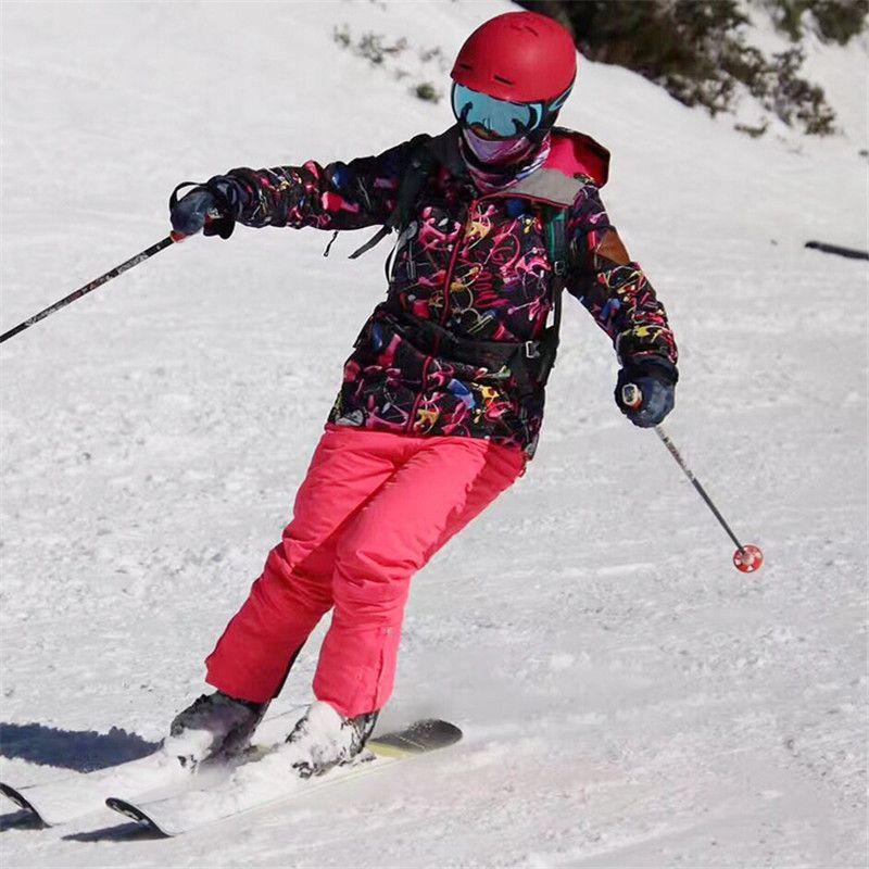 c3347c6243 2019 GSOU SNOW Brand Ski Suit Women Ski Jackets Snowboard Pants Waterproof  Skiing Suits Snowboarding Jackets Pants Winter Snow Coats From Dragonfruit