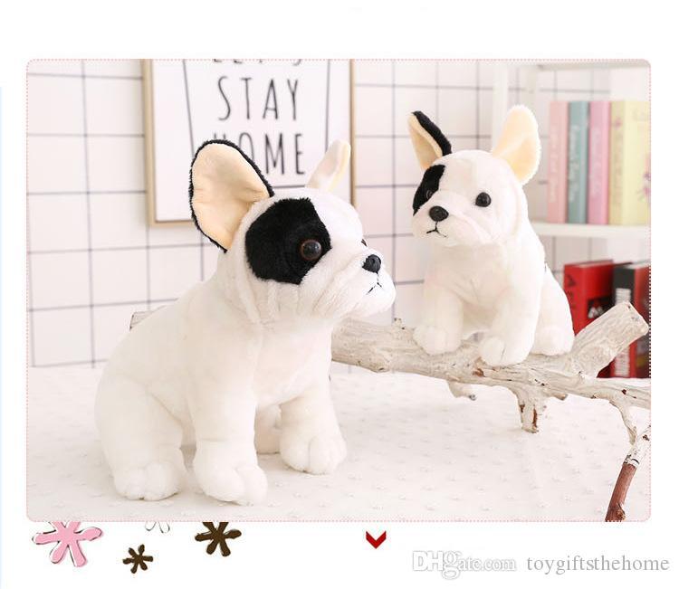 2019 Simulation Dog Plush Toy French Bulldog Plush Doll Stuffed