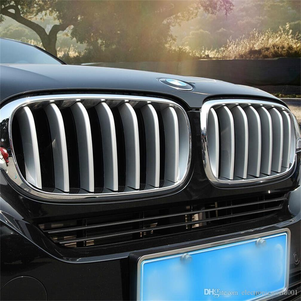 For Bmw X5 F15 2014 2016 14x Chrome Front Center Grill