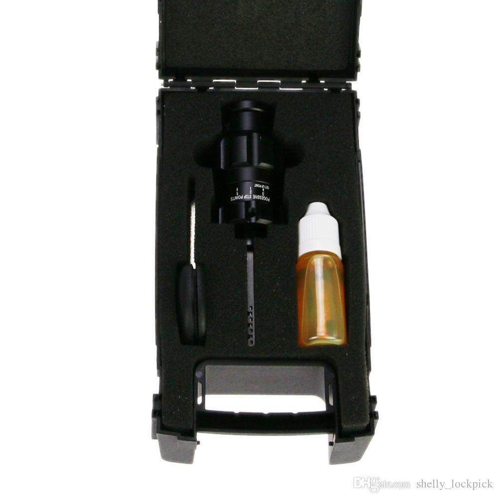 Hot Sale Auto Lock Decoder Tools Turbo Decoder HU100 Lock Pick Set Locksmith Tools for Opel