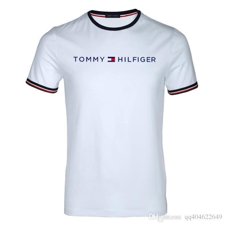 8995eb11 2019 Men T Shirts Fashion Jeans Brand Print Funny Short Sleeve T Shirt Men  Summer Casual Male T Shirt Hipster Hip Hop Tee Shirt Men Top Cool Shirt  Designs T ...