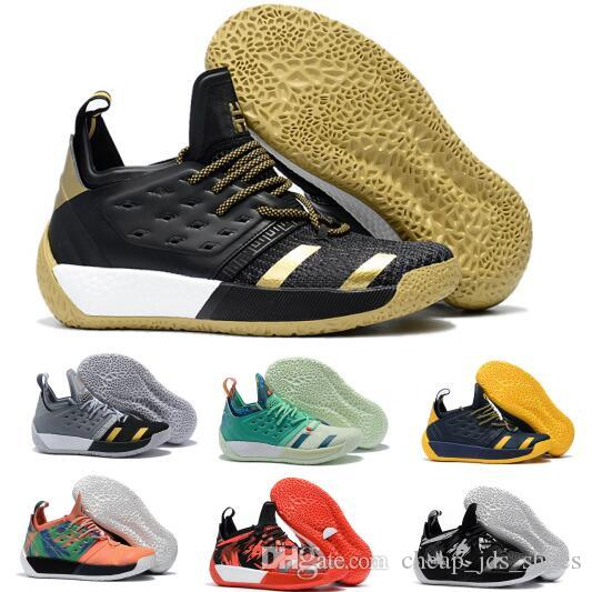 7e9007fca0cd Lasts James Harden 2 Basketball Shoes Sneakers Mens Man High BHM Vol.2s II  3M Tennis Trainers Authentic Sports Hardens Shoe Size 40 46 Discount Shoes  Shoe ...
