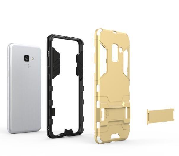 Custodia rigida PC + Custodia in TPU Samsung Galaxy S9 A8 PLUS 2018 A7 Custodia protettiva PC ibrida antiurto Nokia 7 9 MATE 10 Pro Nokia 7 9
