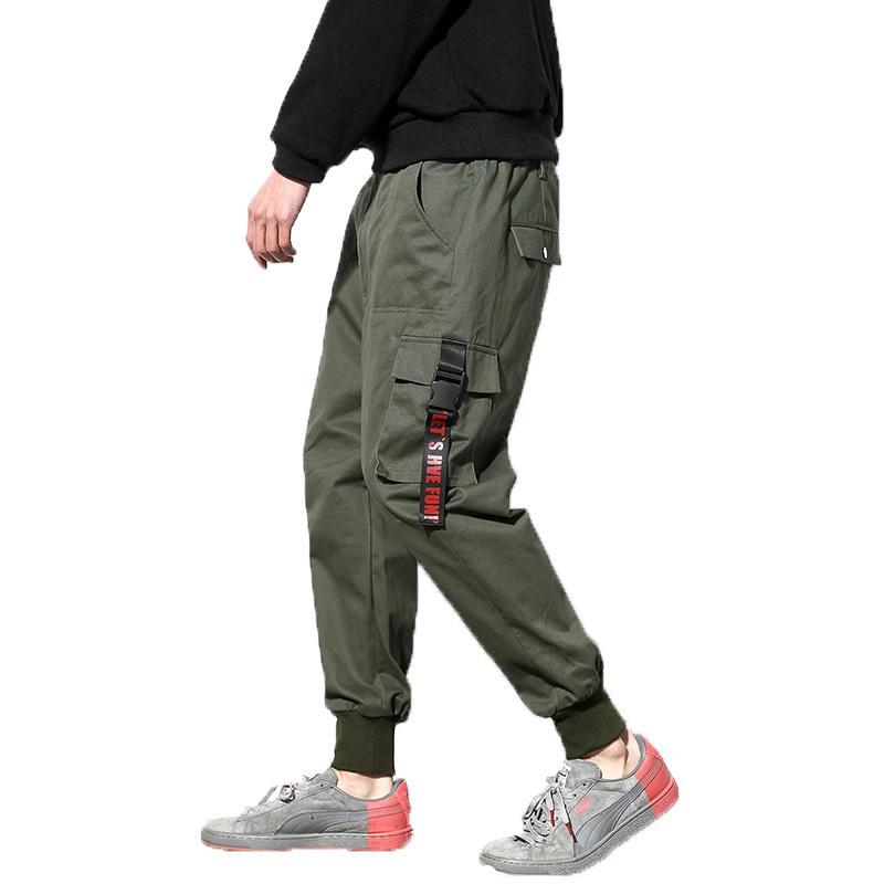 Compre 2018 Hombres Ejército Verde Pantalones De Carga Hombre Joggers  Aumentar Pantalones De Algodón Militar Hip Hop Pantalones Harem Hombres Al  Aire Libre ... e52929dfec91