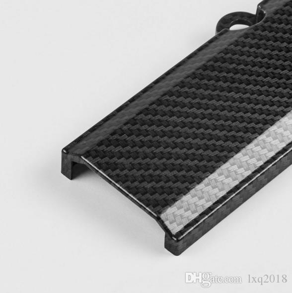Honda Motor B16 B18 B17 için karbon fiber buji INSERT kapak kaput demeti