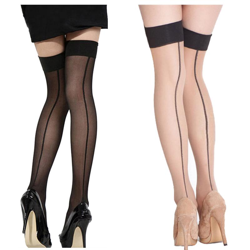 Women Ladies Sexy Stocking Top Sheer Stay Up Thigh High Stockings Pantyhose Hot Sale Over the Knee Stockings