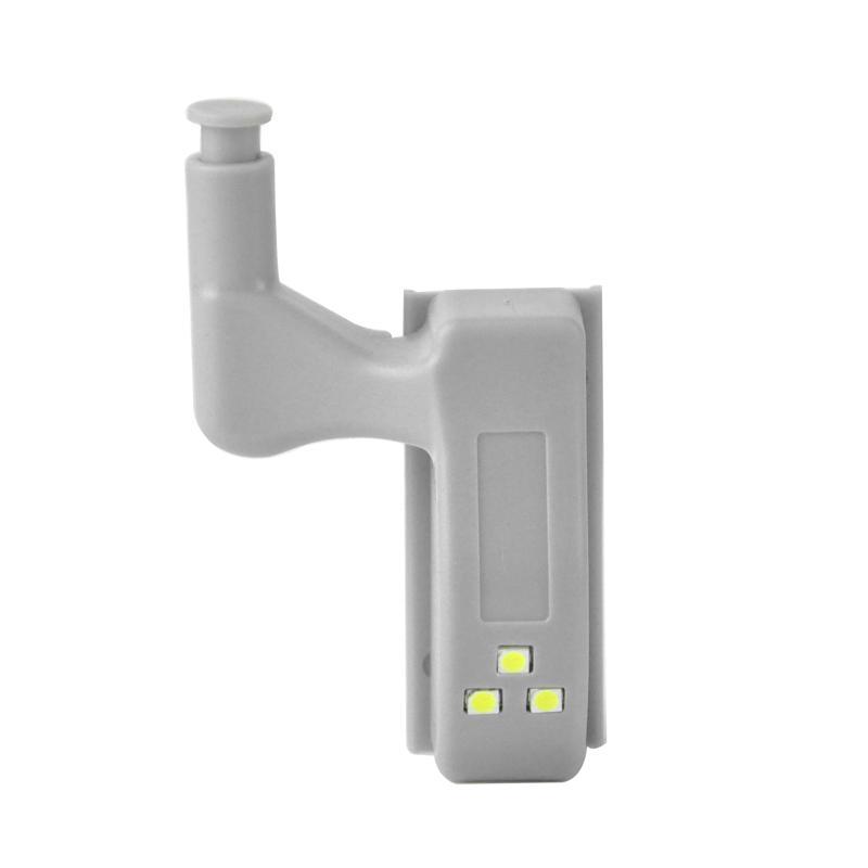 10 adet / takım Evrensel Kabine Dolap İç Menteşe LED Sensörü Dolap Işık Modern Ev Mutfak Gece Lambası