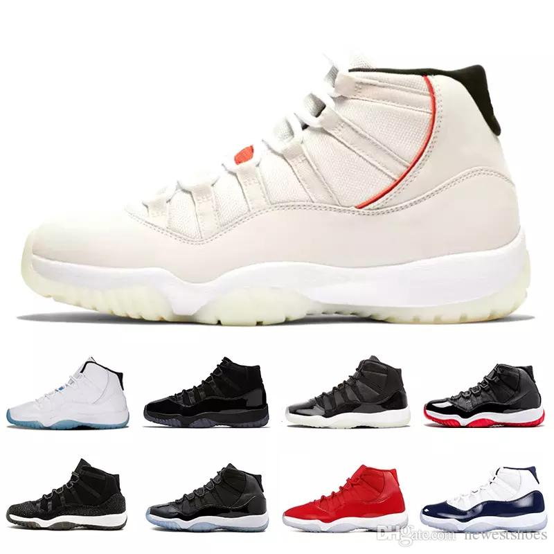 6bdf68f6ad65cf Retro Platinum Tint XI 11s Concord 45 Prom Night Basketball Shoes 11 Gym Red  Cap And Gown PRM Heiress Bred Sports Sneakers Shaq Shoes Kd Basketball Shoes  ...