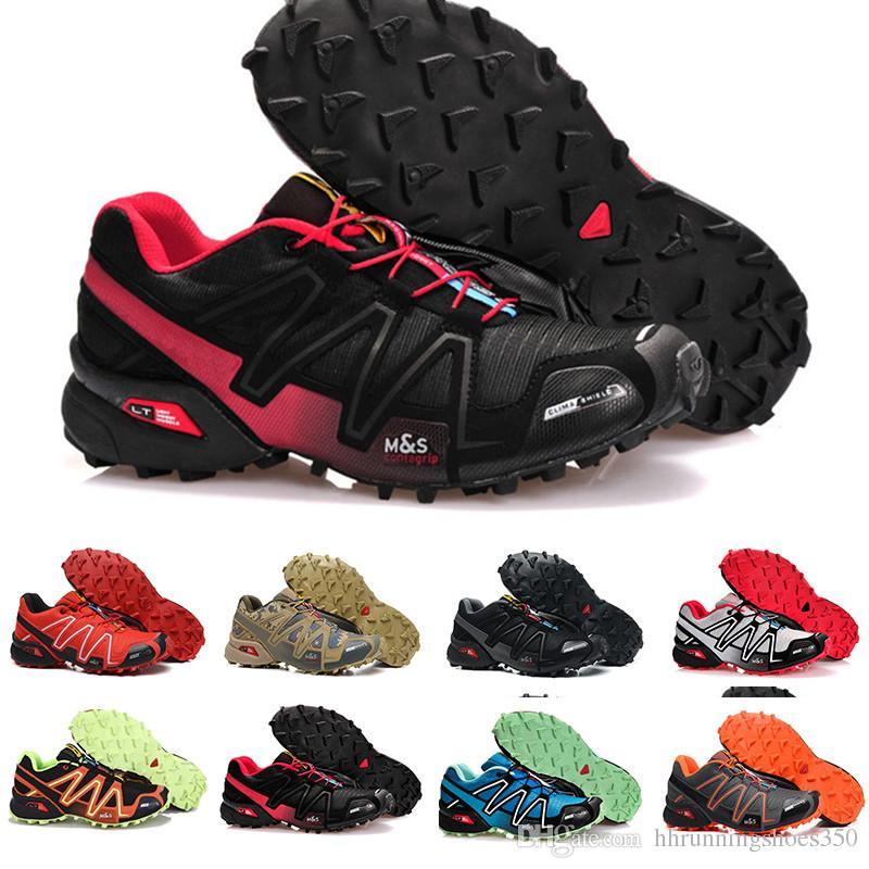 separation shoes f0ee2 3ca73 Großhandel Salomon Speedcross 3 Marke Heißer Verkauf Solomons Speedcross 3  Cs Trail Freizeitschuhe Frauen Leichte Turnschuhe Navy Solomon Iii Zapatos  ...