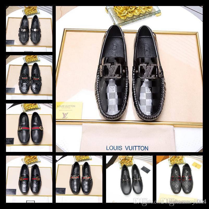 Compre 2019 Zapatos De Diseñador Para Hombre 9d8d7d579fa