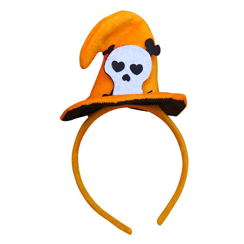Halloween Decoration Pumpkin Sorceress Hat Witch Hat Fancy Dress Party Costume Cap Party Decor for Kids Caps Adults Cosplay P0.2