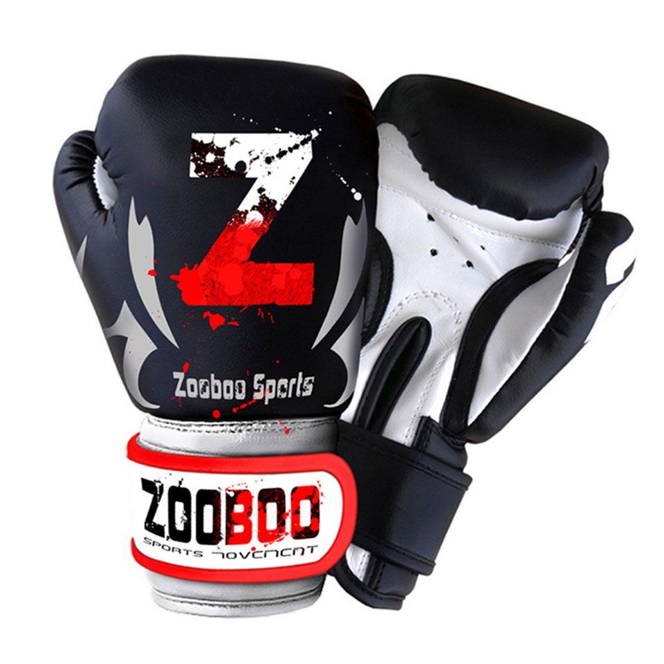 7aaeeba44 Compre Zooboo Mma Muay Luvas De Boxe Tailandês Sanda Kungfu Wushu Mulheres  Homens Luta De Treinamento De Saco De Areia Guantes De Boxeo Engrenagem Da  Luva ...