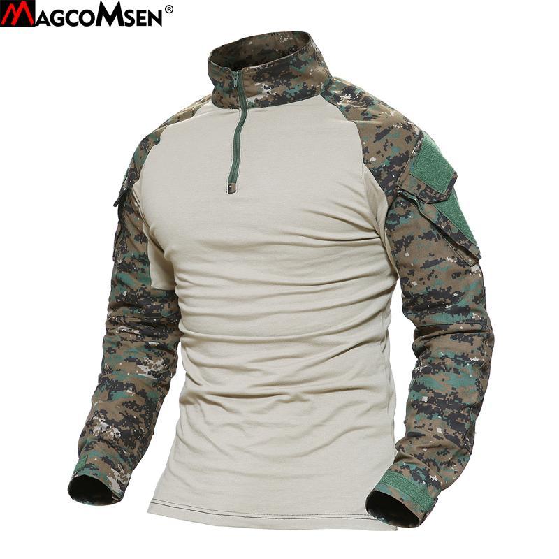 Camouflage Magcomsen Armée Acheter T Homme Combat Multicam Shirts wBC4qCH7