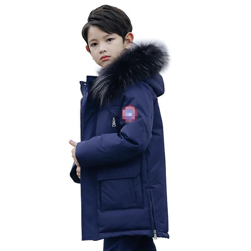 4e2ec507e Top winter down jacket parka for girls boys coats boys down jackets  children's clothing for snow wear kids outerwear & coats