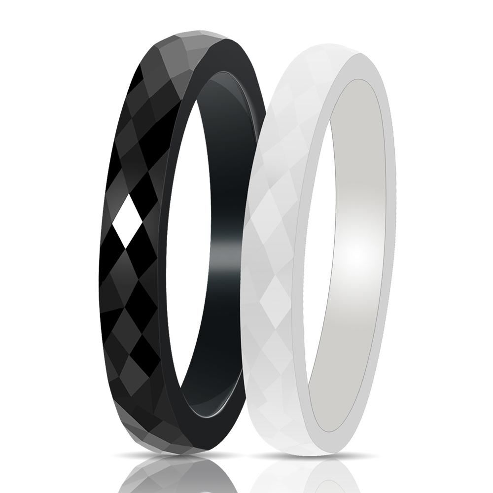 beveled cool silver products brushed with red aluminum edges diagonal inner wholesale rings finish and band ceramic anodized w wedding polished ring photo tungsten bands