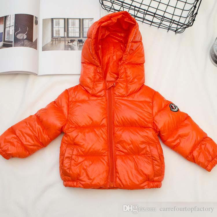 7934f5e0d 2019 Winter Jacket New Coming Brand Hooded Kids Girls Winter Coat ...