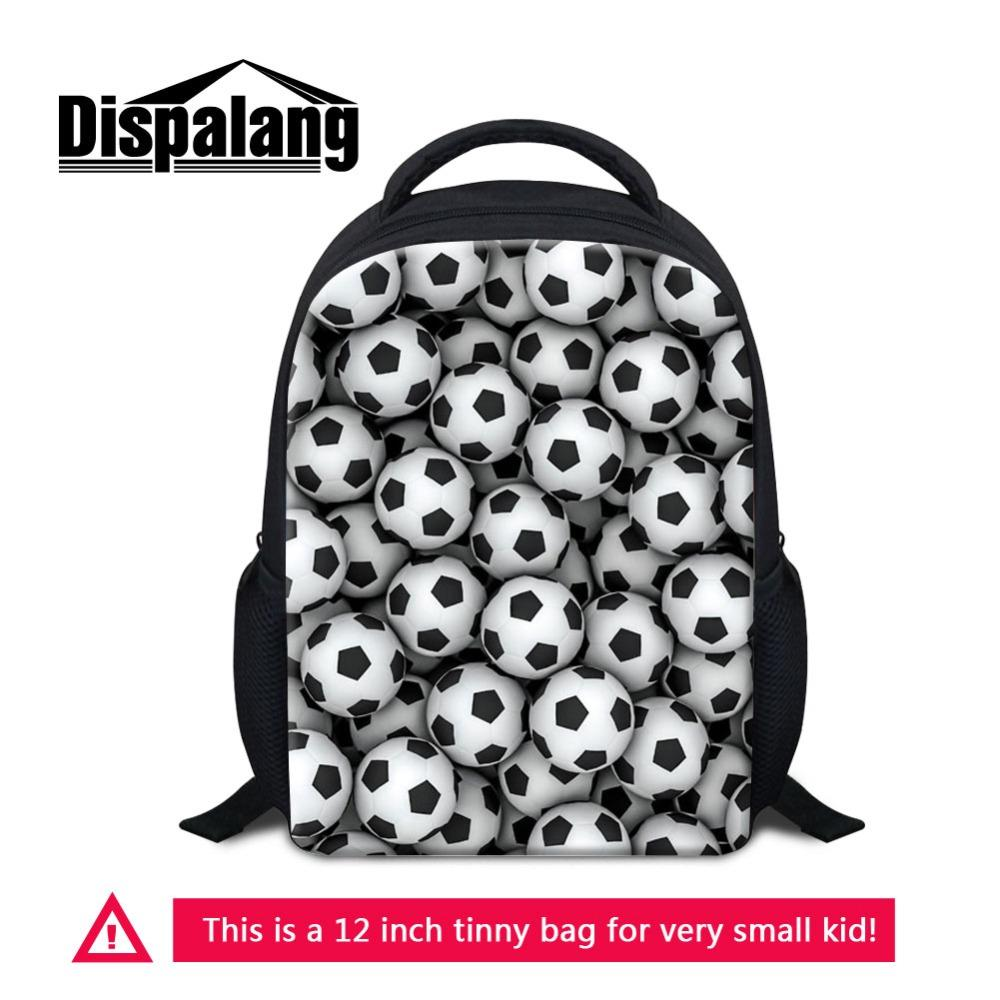 customize your own footballs backpack for kids basketballs print